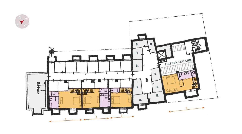 totaal plattegrond loft26 souterrain