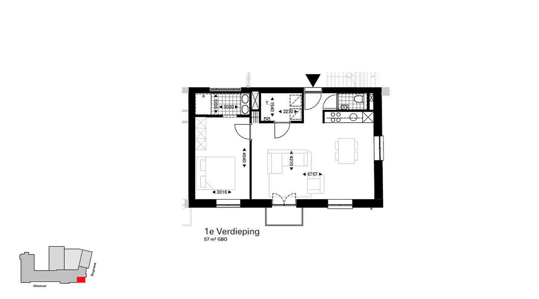 koopappartement De Wijnberg 1.9