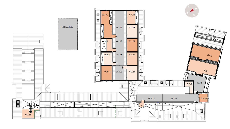 derde verdieping De Wijnberg