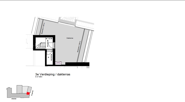 derde verdieping W1.8 koopwoning De Wijnberg