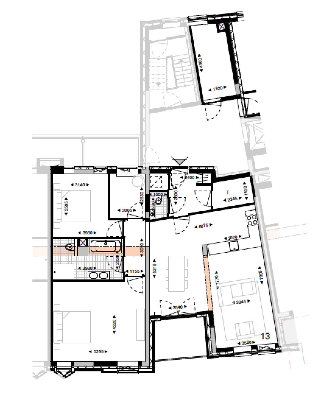Loft nr 13 in - Loft26 Grave koopwoning